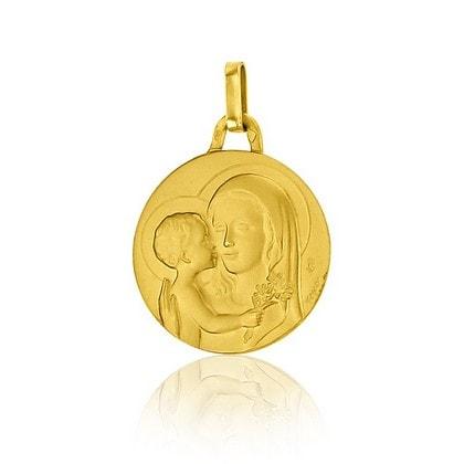 Quelle médaille de Vierge pour un baptême ?